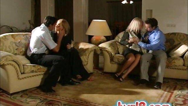 HD-MenPOV reife nackte brüste Scotty sitzt auf Austin ' s großen Schwanz